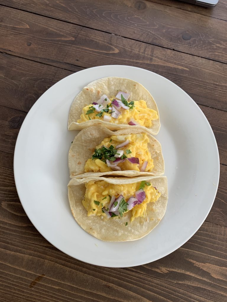 Eggs Breakfast Tacos