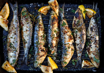 Grilled Fish with Spike Seasoning