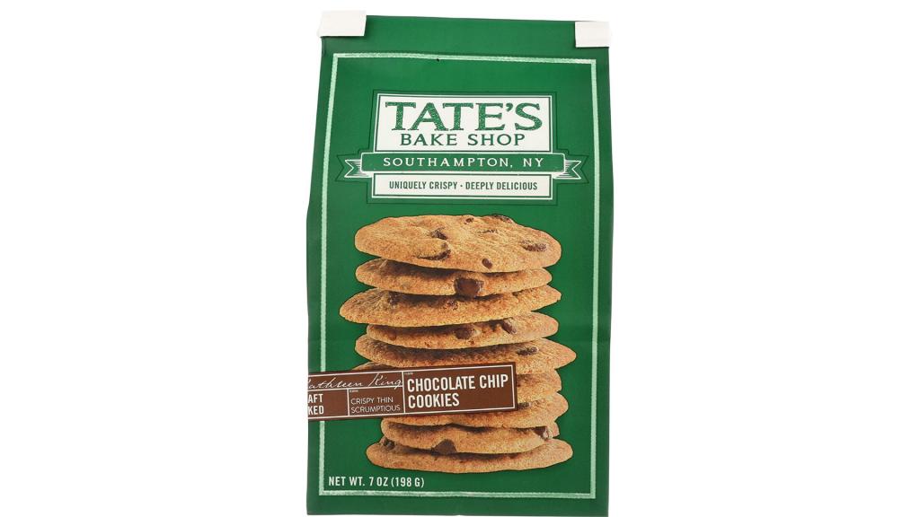Tate's Bake Shop Thin & Crispy Cookies gluten free snacks