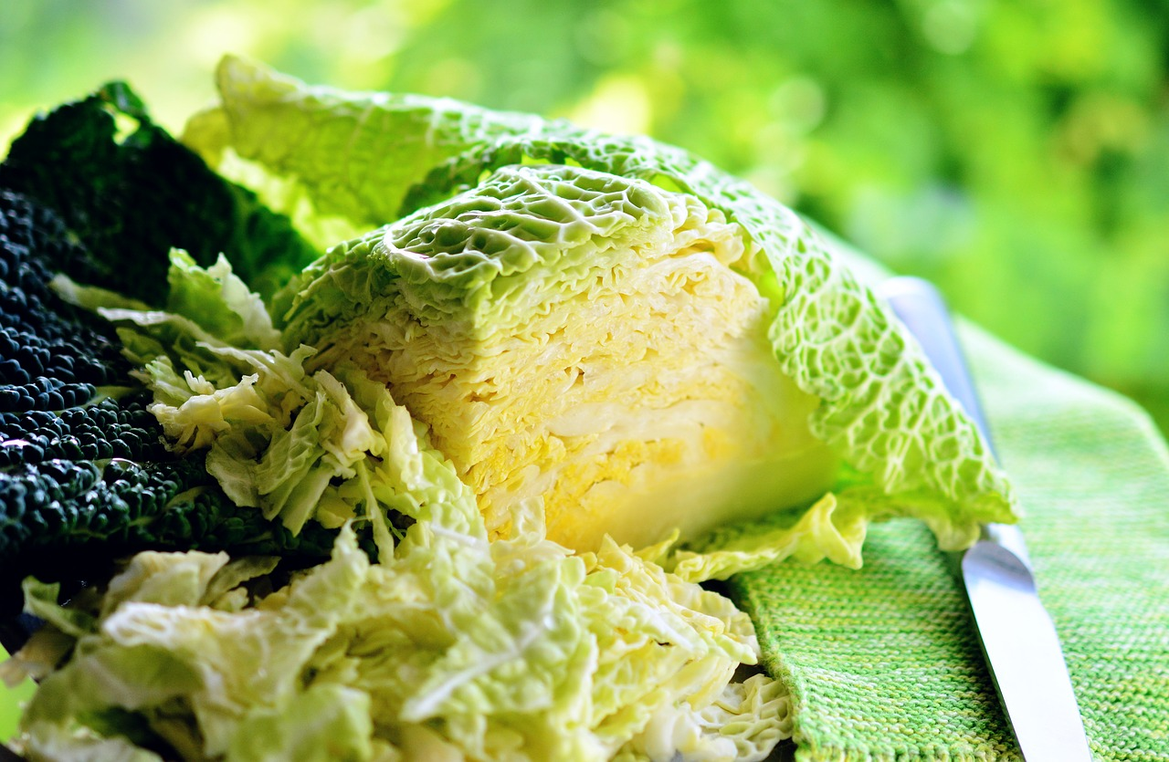 How To Chop Cabbage